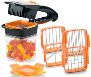 Nicer Dicer Quick 7 tlg orange