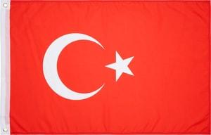Türkei Länderfahne