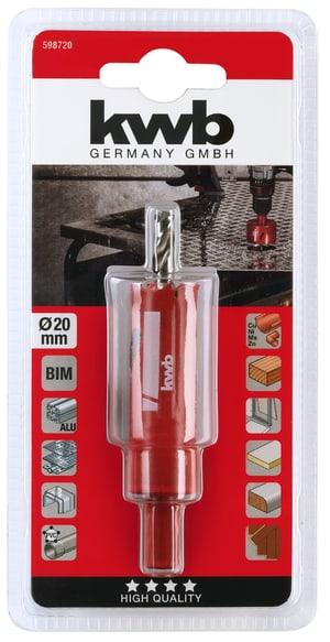 Scies trépans HSS bi-métal 20 mm