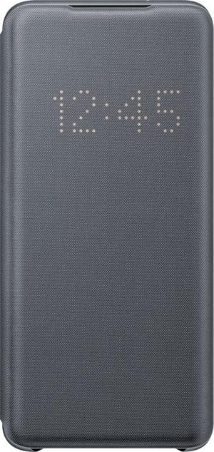 Book-Cover avec Affichage LED Gris