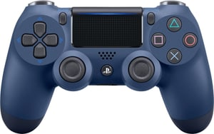 PS4 Wireless DualShock Controller v2 midnight blue