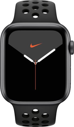 Watch Nike Series 5 GPS 44mm space gray Aluminium Anthracite Black Sport Band