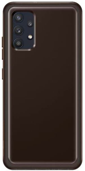 Soft Clear Cover Black