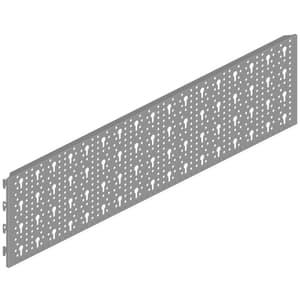 Parete forata 800 x 200 mm alluminio bianco