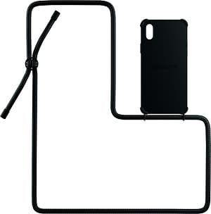 Necklace Case All Black iPhone X / XS