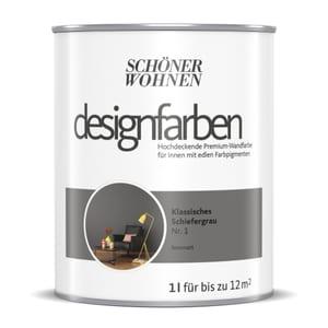 Designfarbe Schiefergrau 1 L