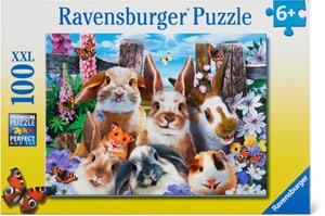 Selfie de lapins Puzzle