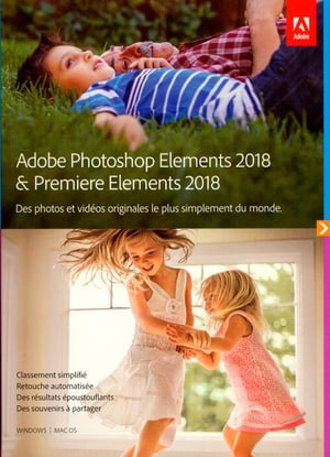 PC/Mac - Photoshop Elements 2018 & Premiere Elements 2018 (F)