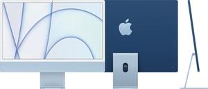 CTO iMac 24 M1 8CGPU 8GB 512GB SSD NKey MM2 blue