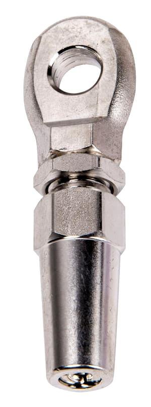 Tenditore terminale inossidabile per cavi d'acchiaio 4mm