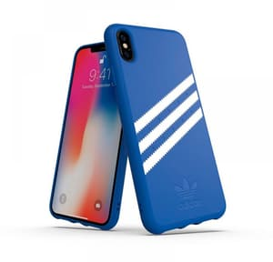 Moulded Case Canvas Suede blu