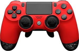 Infinity 4PS Pro Gaming Controller Deep Red Black
