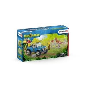 Geländewagen mit Dino-Posten