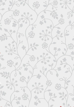Pellicola per vetri statica Tord bianca