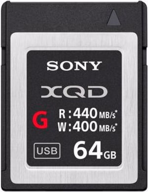 QDG64F 64GB XQD Card G-Serie