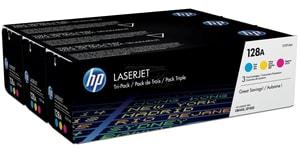 HP Tri-Pack 128A CMY