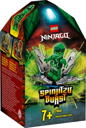 NINJAGO Spinjitzu Attack - Lloyd 70687