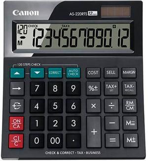 Calculatrice CA-AS220R 12-chiffres