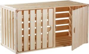 Cassetta in legno A1/1 con porta