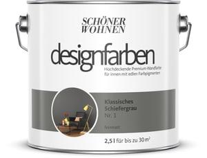 Designfarbe Schiefergrau 2,5 l