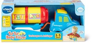 Tut Tut Baby Flitzer Tankwagen & Anhänger (DE)