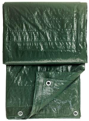 Gewebeplane grün, 1,5x6m mit Ösen