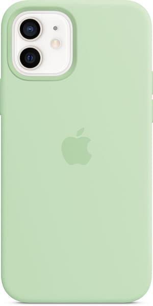 iPhone 12/12 Pro Silicone Case MagSafe Pistachio