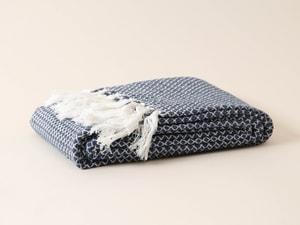 Coperta di cotone nappe