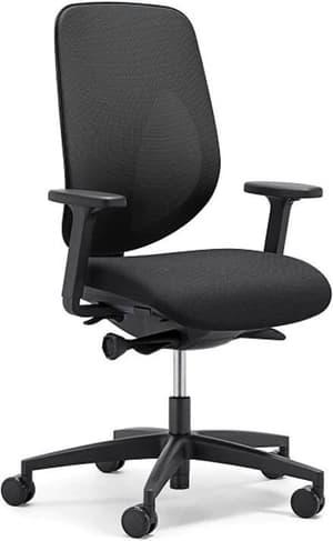 Chaise bureau 353-4029 353-4029 noir, avec accoudoir