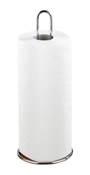 Küchenrollenhalter silber glänzend