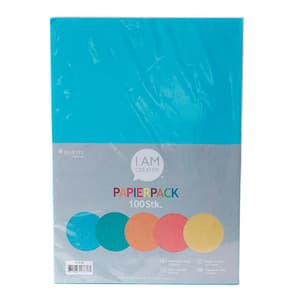 Papierpack, Color, 100 Blatt