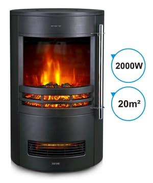 Caminetto elettrico 2000 W