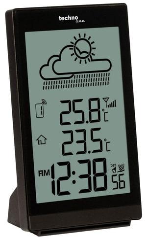 Orologio da parete radio WS8015 bianco Datu