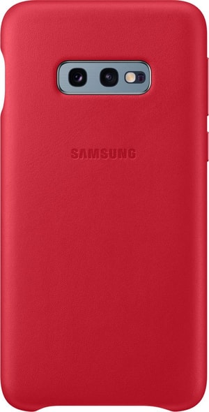 Leather Cover Red