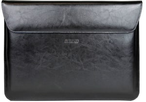 Marbled Leder-Tasche black for Surface Book
