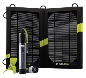 GoalZero Powerbank Switch 10 inkl. Solarpanel und Venti