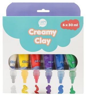 Creamy Clay, 6 x 30 ml