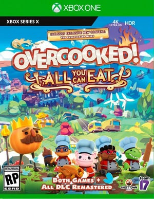 XONE - Overcooked - All You Can Eat D