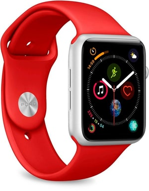 Icon Silicone Band - Apple Watch 42-44mm - red
