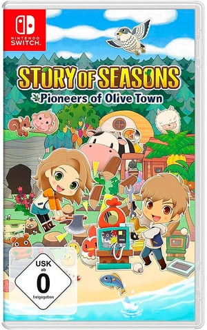 NSW - Story of Seasons: Pioneers of Olive Town D