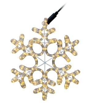 Lichtschlauch-Schneeflocke