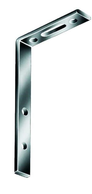 Gardinenwinkel verzinkt 120 x 55 x 17 mm
