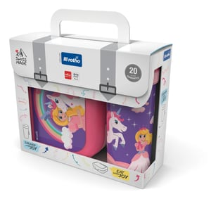 Set Box + Flasche MEMORY KIDS Princess