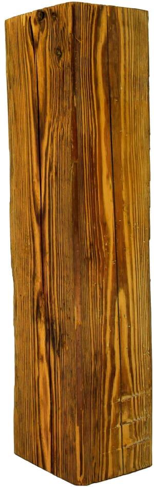 Poutre de vieux bois 100-140 x 100-140 x 1000 mm