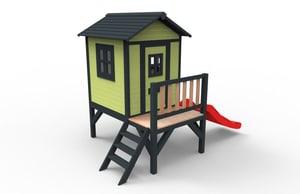 Spielhaus Aline Fun Plus grün