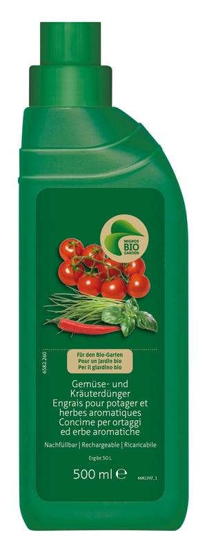 Gemüse- und Kräuterdünger, 500 ml