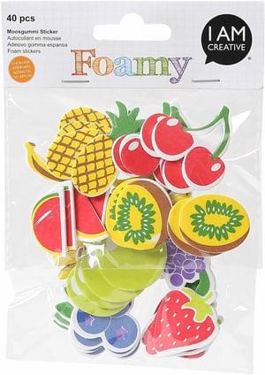 FOAMY, fruits, 40 pcs