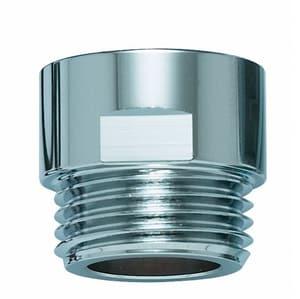 Wassersparverschraubung für Duscharmatur