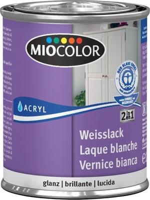 Acryl Weisslack glanz weiss 125 ml