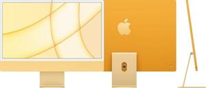 CTO iMac 24 M1 8CGPU 8GB 256GB SSD NKey MM2 yellow